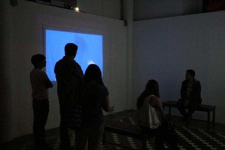 Inauguración Nómada 04 en el Museo para la Identidad Nacional en Tegucigalpa