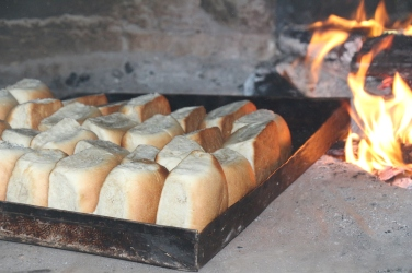 Pan de coco. Triunfo de la Cruz, Honduras.