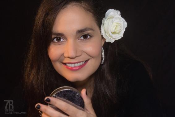 La cantante Nidia Bonilla, Honduras.