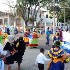 Evento de gestión cultural en la Plaza de la Cultura, 2015